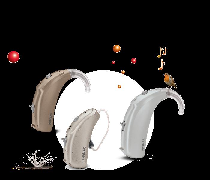 Máy trợ thính Phonak Naida V